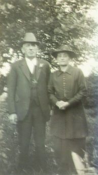 James Stevenson and Susannah Stevenson (nee Harris) Circa 1940
