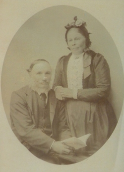 John George Harris and Emily Margaret Harris (nee Blayney) Circa 1905