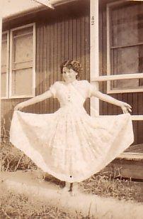 At home, 42 Mulda Street, ca.1953.