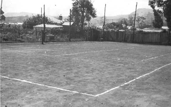 Christley's Tennis Club. Conniston