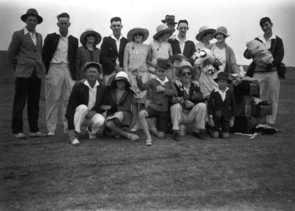 Christley's Tennis Club. Coniston