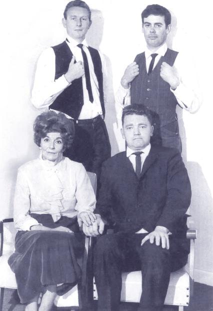 """portrait of cast of """"Garden District"""", Colin Challenger, Pam Dunn, Ron Herbert, Bruce Hudson"""