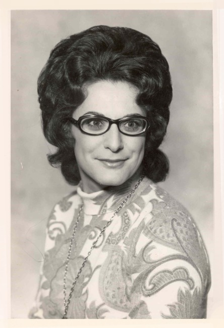 "Nov 1973; Publicity Portrait of Janet Correy taken for Arcadians production ""The Sound of Music"""