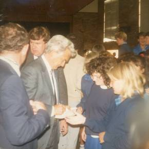 Bob Hawke at Keira High School