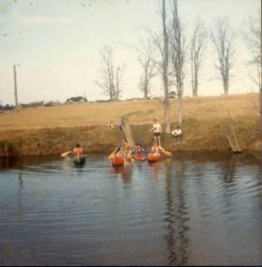 Logbridge Farm Mt. Keira canoeing