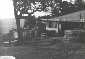 Bulli Lookout and Kiosk - 1950s