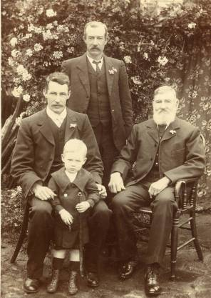 The Gibson Family - 1908