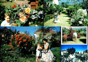 The garden at Lauriston