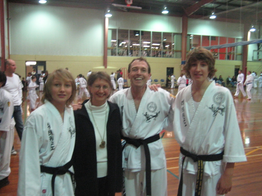 Spinks Family - BB grading June 2010