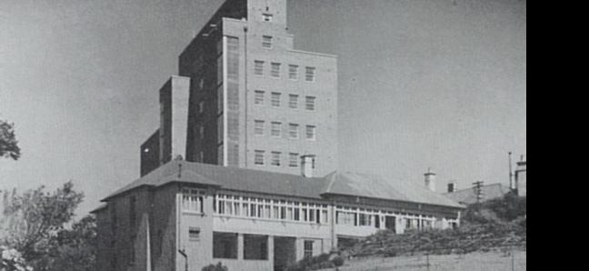 Wollongong Hospital, 1950