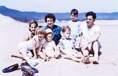Betty & Robert and children