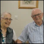 Joan and Ron Cairns Profile Portrait