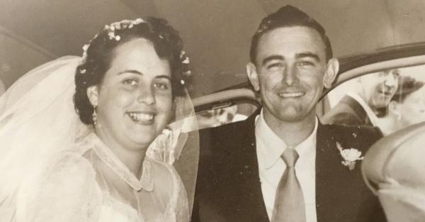 Joan & Ron - Wedding Day