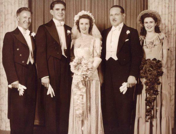 Betty & Robert Wedding