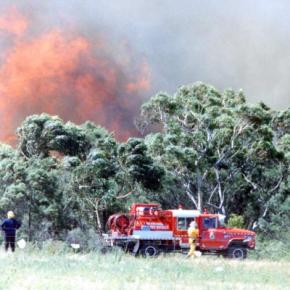 Helensburgh Bushfires