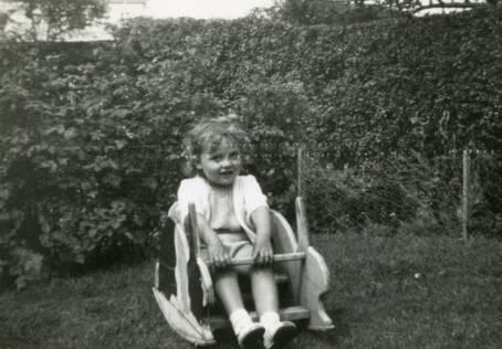 Barbara at Morningside, UK - 1959