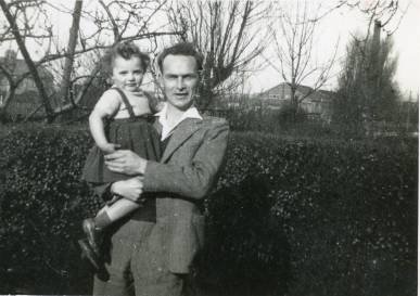 Barbara and her father, Frank Davies
