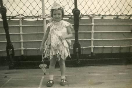 Barbara Travelling to Australia via ship
