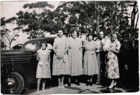 Craig Family Day Out - 1951