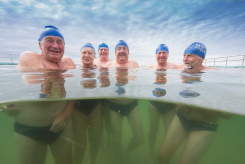 Bulli Sea Lions 2016 - Hugh Carpenter, Wendy Carpenter, John McGrath, Barry Adams, Bob Badger, Peter Dorrington