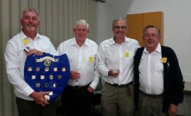Celebrations and Presentations at Bulli Workers Club - 22 September 2018 - Steve Robinson, Peter Cannell, Richard McMullen, Barry Adams (presenter)
