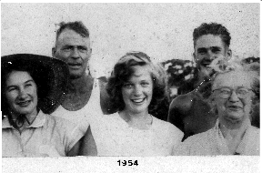 The Fahey Family - 1954