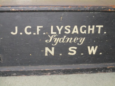 Lysaght Travelling Box