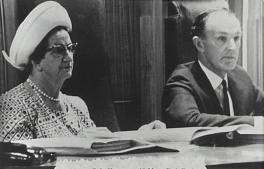 Alderman Rube Hargrave and Mayor Ernie Ford - P16392